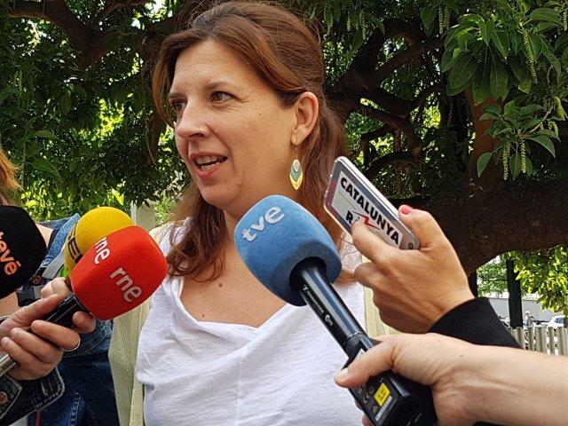 La teniente de alcalde de Barcelona Laia Ortiz (archivo)
