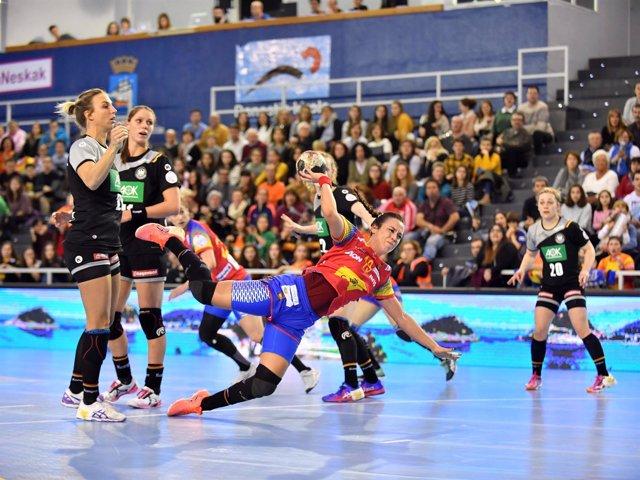 Guerreras selección española balonmano femenino