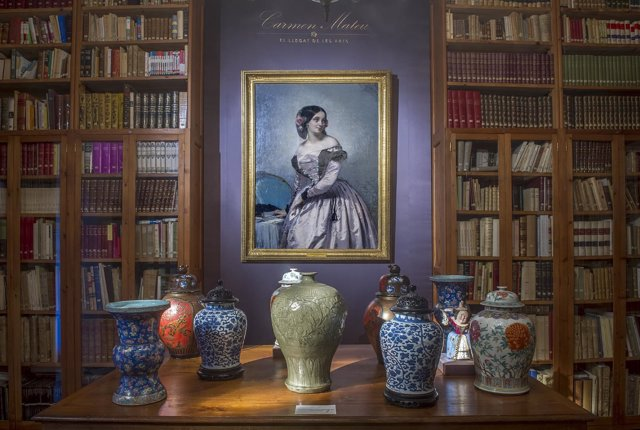 Exposición Carmen Mateu en el Castell de Peralada