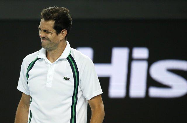 El tenista español Guillermo García López