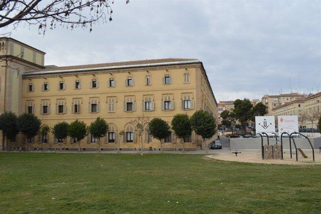 Edificio del Rectorado de la Universitat de Lleida.