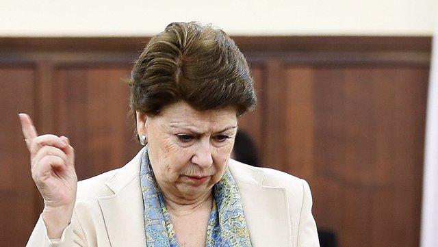 La exconsejera Magdalena Álvarez en el juicio de los ERE