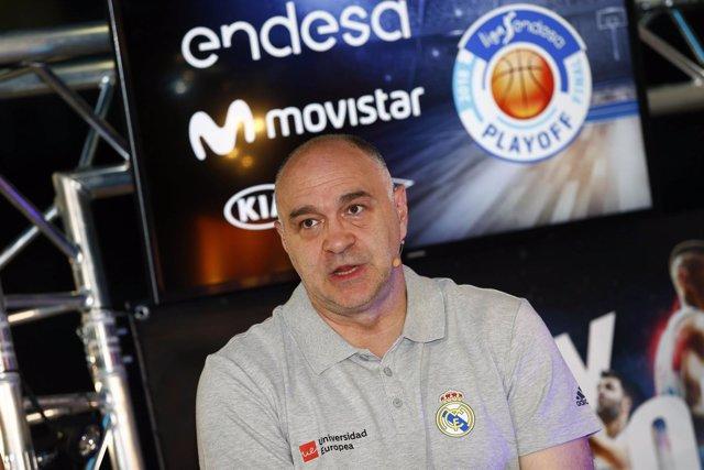 Pablo Laso Real Madrid
