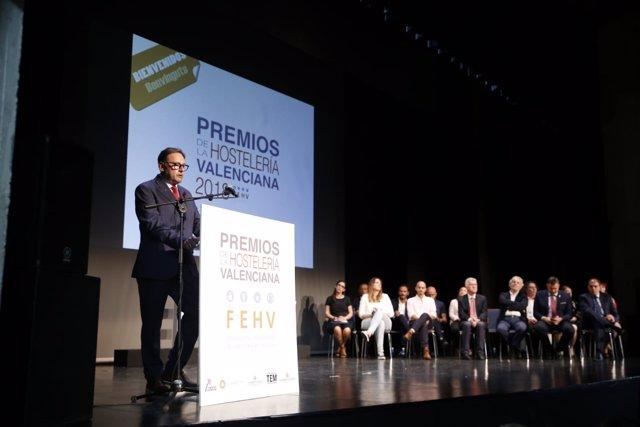 Gala de entrega de los premios de la FEHV