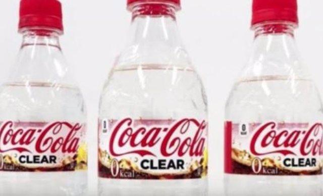 Coca cola transparente