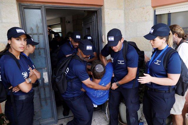 Evacuación de 15 viviendas en el asentamiento de Netiv Haavot, en Cisjordania