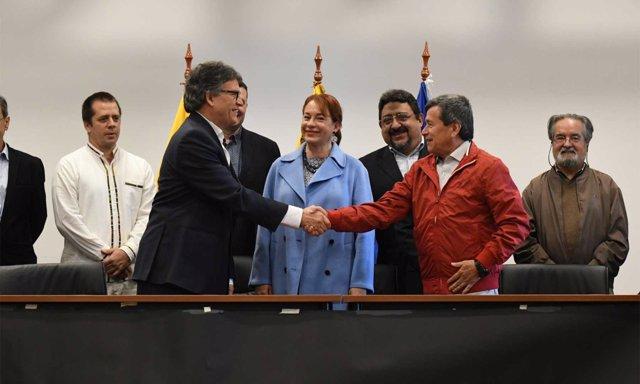 ELN declara nuevo alto el fuego unilateral para segunda vuelta