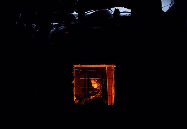 Cortes de luz en la Franja de Gaza