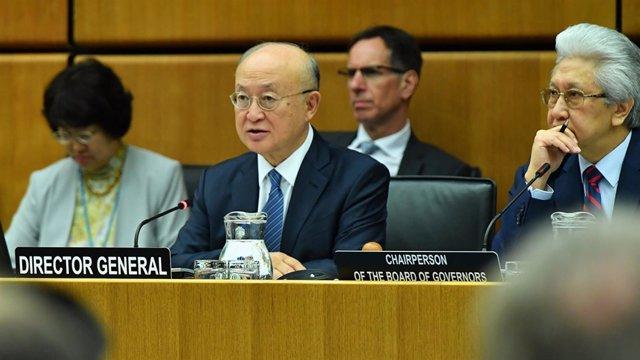 El director general de la AIEA, Yukuya Amano