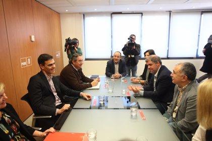 Sánchez se reúne hoy con los líderes de CCOO, UGT, CEOE y Cepyme para una primera toma de contacto