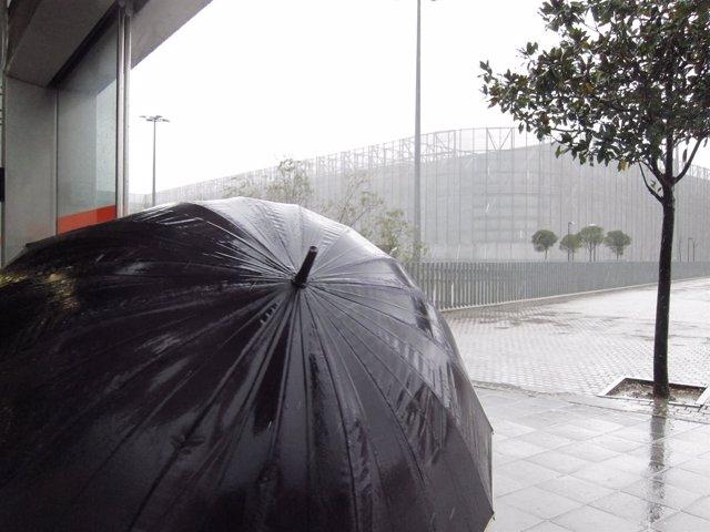 Lluvias persistentes en Euskadi (Foto Archivo)