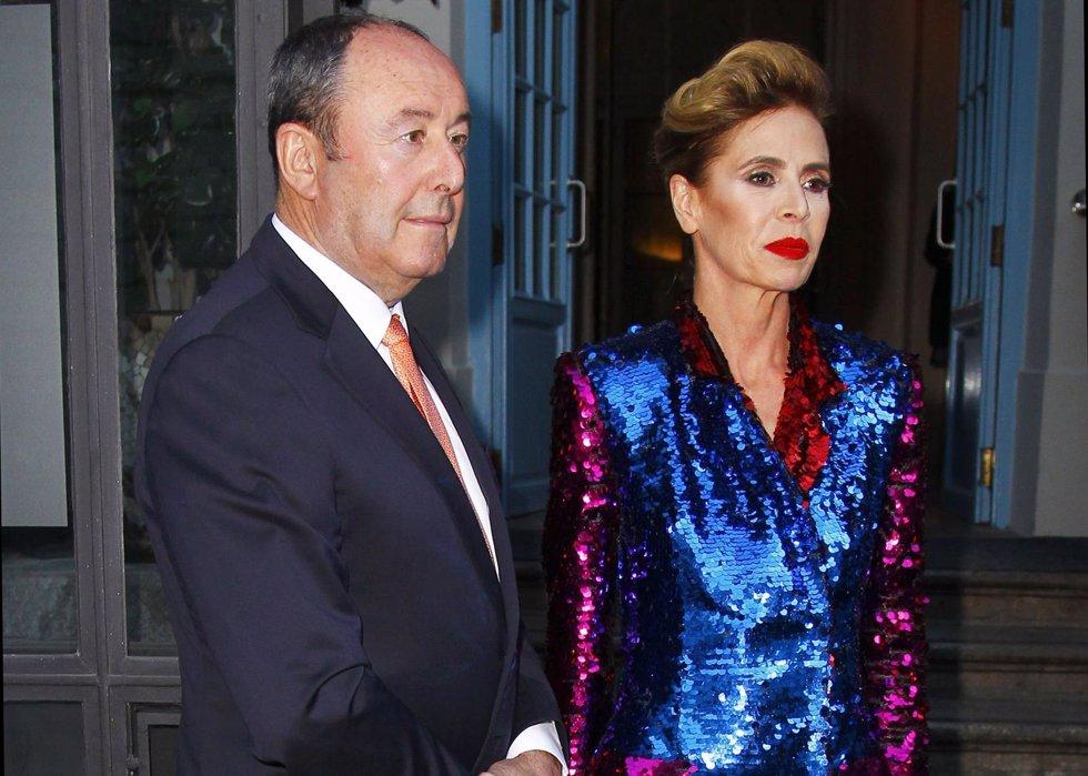 AGHATHA RUIZ DE LA PRADA Y Luis Miguel Rodríguez