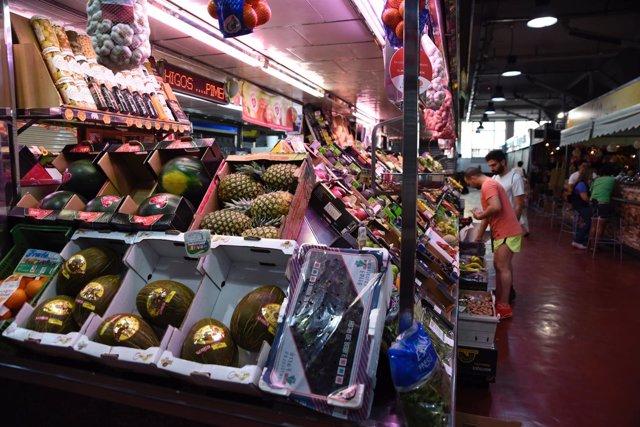 Mercado, mercados, fruta, frutas, frutería