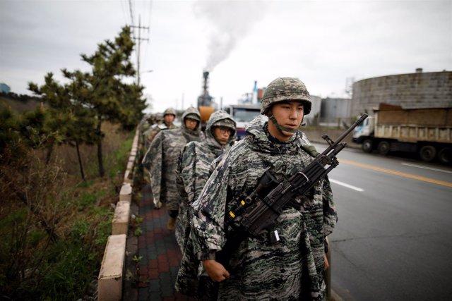 Maniobras militares conjuntas entre Corea del Sur y Estados Unidos