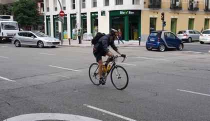 El 8,3% de los heridos graves en accidente de tráfico en Murcia es ciclista, según un estudio