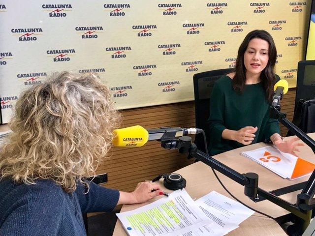 Inés Arrimadas en Catalunya Ràdio
