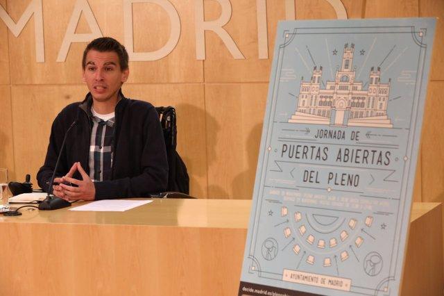 Pablo Soto en pleno abierto