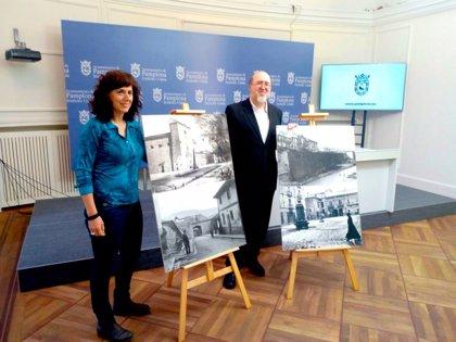 Los comercios del Casco Antiguo presentan una exposición con 70 fotografías de la 'Pamplona entre murallas: 1860-1936'