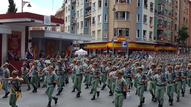 Desfile del Día de las Fuerzas Armadas 2018