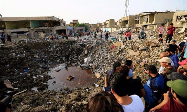 Explosión en el barrio bagdadí de Ciudad Sadr
