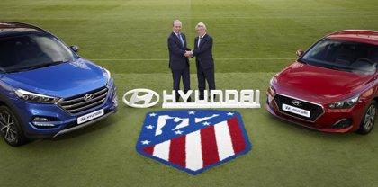 El Atlético firma con Hyundai un acuerdo de patrocinio por los próximos tres años