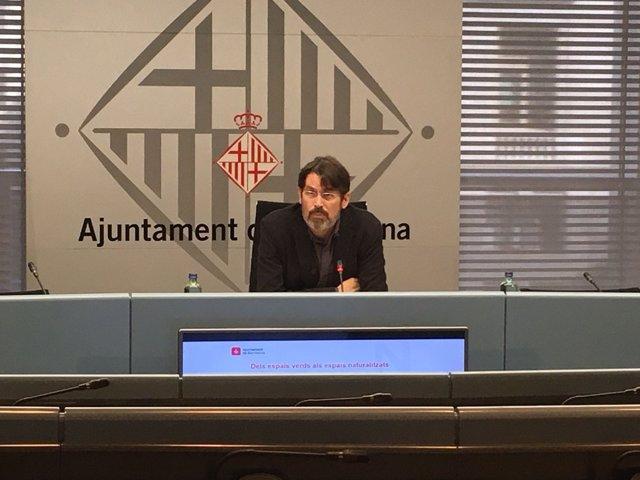 Comisionado de Ecología del Ayuntamiento de Barcelona, Frederic Ximeno