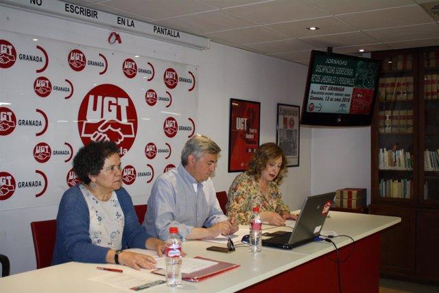 Jornada sobre discapacidad organizada por la UGT