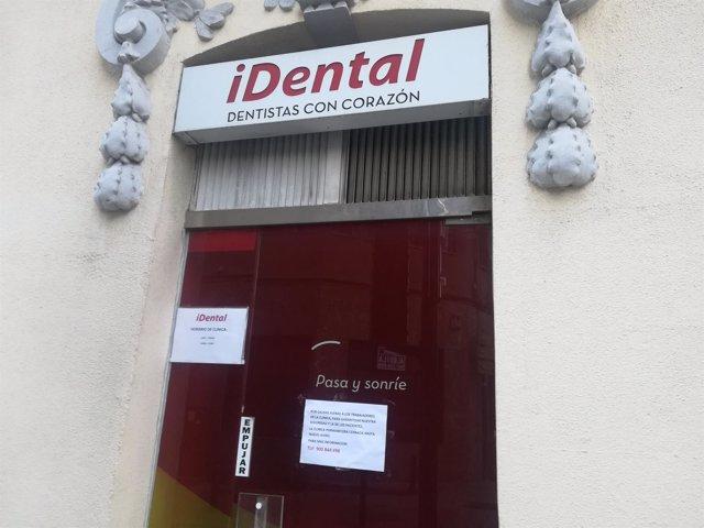 Una de las Clínicas de Idental afectadas por el cierre en España
