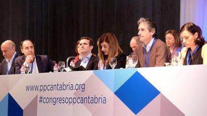 La Justicia avala el Congreso del PP de Cantabria en el que Buruaga fue elegida presidenta
