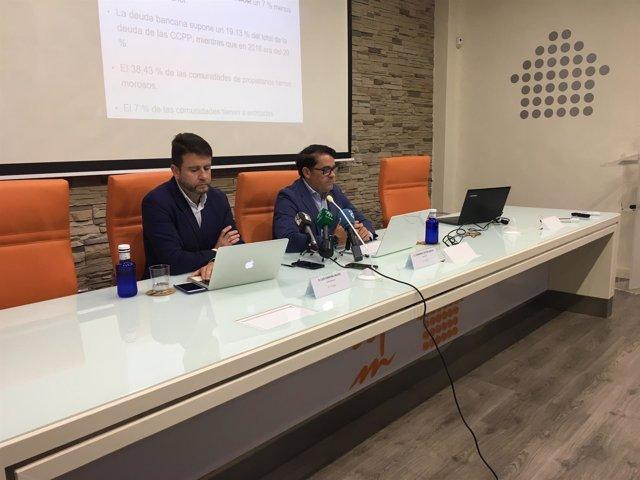 Luis Camuña y Fernando Pastor. Vicepresidente y presidente de administradores fi