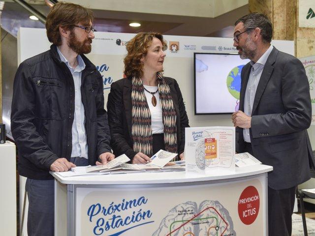 """""""Próxima Estación: Prevención Del Ictus"""" Llega A Bilbao"""