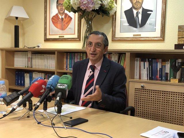 El presidente de Ecova, Juan Carlos de Margarida