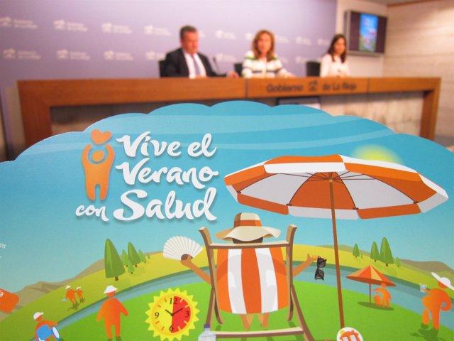 Presentación Campaña 'Vive El Verano Con Salud'