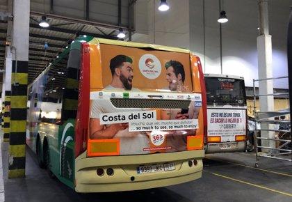 Turismo Costa del Sol amplía su campaña de promoción de la oferta de ocio en los autobuses de la provincia
