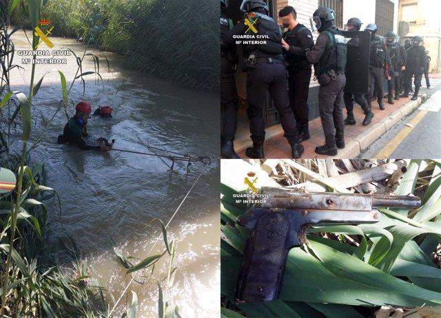 Guardia Civil esclarece una tentativa de homicidio en Las Torres