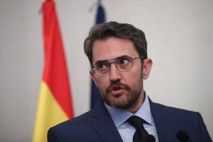 """Pablo Iglesias pide la dimisión """"inmediata"""" de Máxim Huerta tras la condena por fraude fiscal"""