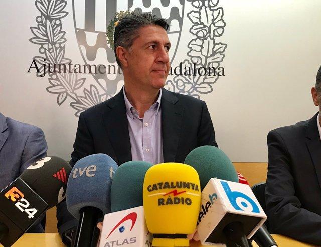 El lider del PP en Catalunya y exalcalde de Badalona, Xavier García Albiol