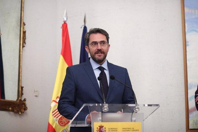 El ministro de Cultura, Màxim Huerta, fue condenado en 2017 a pagar 243.000 euros por fraude fiscal