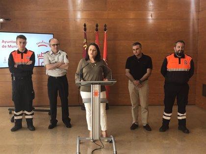 Policía Local, Bomberos y Protección Civil vigilarán a diario los parques forestales y fincas de Murcia