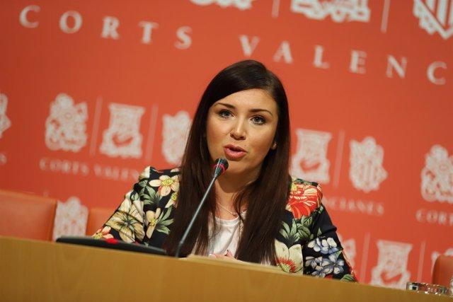 La portavoz de Ciudadanos Mari Carmen Sánchez, en imagen de archivo