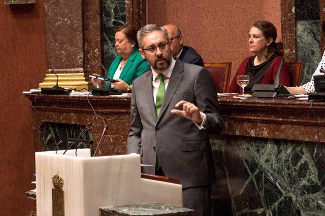 Víctor Martínez, portavoz GPPopular en Debate Estado Región