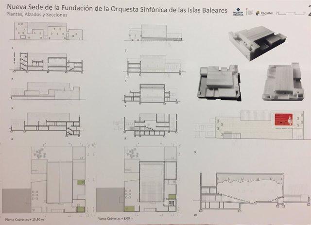 Aprobado el proyecto básico de la nueva sede de la Orquesta Sinfónica, con un presupuesto de 5,2 millones