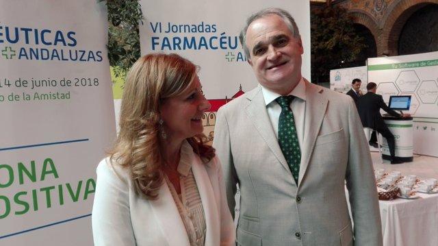 Marina Álvarez y Antonio Mingorance
