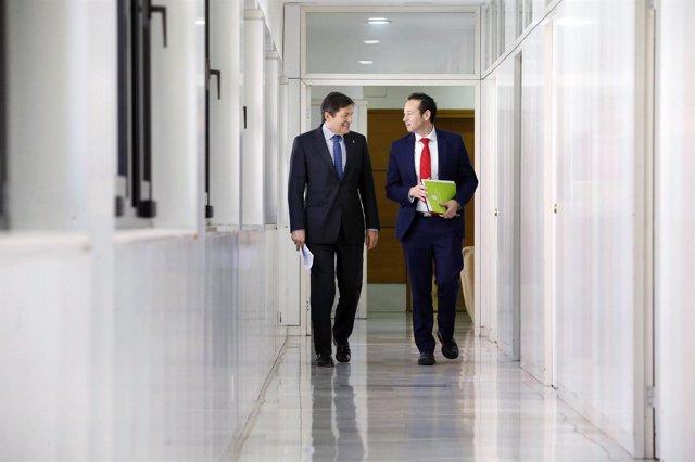 Javier Fernández y Guillermo Martínez