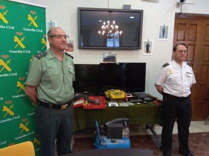 """""""Descabezan"""" en Ciudad Real a la principal red criminal de tráfico de armas y detienen a 21 personas"""