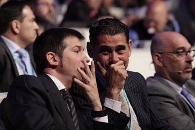 Fernando Hierro assumeix el lloc de seleccionador nacional (Europa Press)