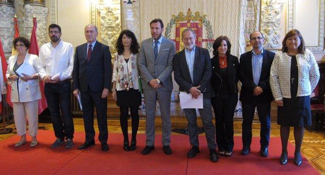El equipo de Gobierno del Ayuntamiento de Valladolid