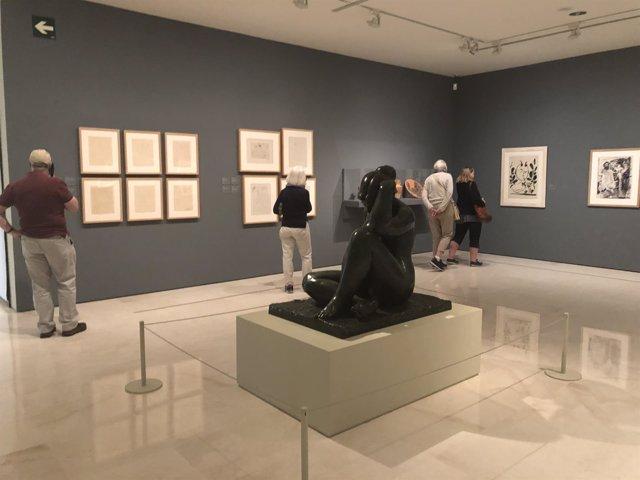 Museo carmen Thyssen málaga obras mediterráneo una arcadia inventada