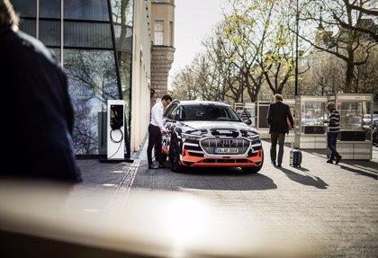 Audi se asocia con Grupo Hager y SMA Solar Technology para la carga de vehículos eléctricos en el hogar