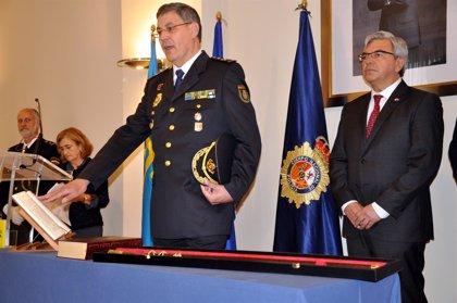 El comisario principal Juan Jesús Herránz Yubero toma posesión como nuevo Jefe Superior de Asturias